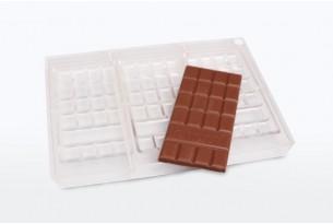 chocri original Tafelform durchsichtig zum Schokolade selber machen