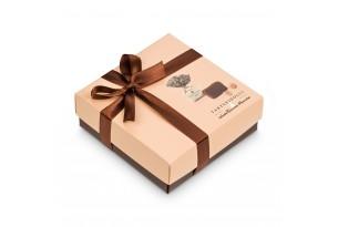 chocri / Antica Torroneria Trüffel-Pralinen in einer hochwertigen Geschenkbox mit Schleifband