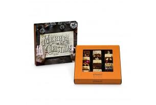 """chocri Weltreise """"Klassik"""" Mini-Schokoladen-Tafeln mit individueller Verpackung"""