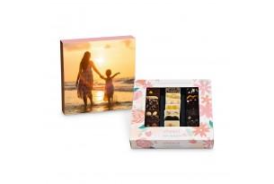 chocri 'Von Herzen' Mini-Schokoladen-Tafeln mit individueller Verpackung