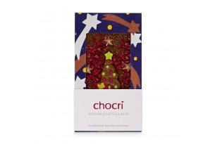 """chocri """"Weihnachtsglanz"""" Weihnachts-Schokoladentafel"""