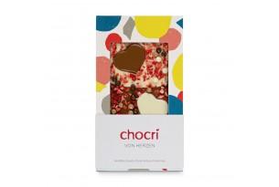 """chocri """"Von Herzen"""" Schokoladen-Tafel"""