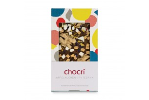 "chocri ""Apfelkuchen"" Schokoladen-Tafel"