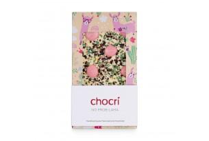 """chocri """"No Prob-Lama"""" Schokoladentafel in Verpackung"""