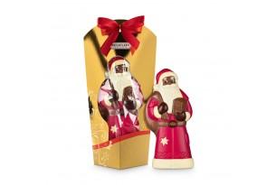 """Confiserie Riegelein """"Line Art Collection"""" Weihnachtsmann in Geschenkverpackung"""