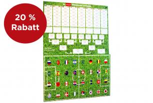 Der einzige und wunderbare Schoko-Tipp-Spielplan von chocri für alle echten Fußball-Fans zur WM | Fan-Artikel | Vorderansicht