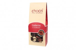 chocri Cranberries in Schokolade
