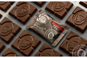 "Laurence ""Ecuador 71%"" Mini-Schokoladen-Tafel"