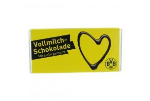 """Schokoladentafel """"Borussia Dortmund - Mit Liebe gemacht"""""""