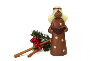 """chocri """"Stella"""" Weihnachts-Schokoladen-Engel"""