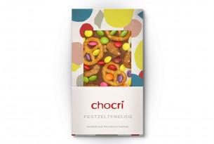 "chocri ""Festzeltfreude"" Schokoladen-Tafel"