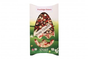 """chocri """"Fruchtige Ostern"""" Oster-Schokoladen-Tafel"""
