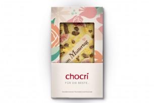 """chocri """"Für die Beste..."""" Muttertags-Schokoladen-Tafel"""