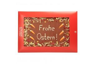 "chocri ""Frohe Ostern!"" Maxi-Gruß-Schokoladen-Tafel"