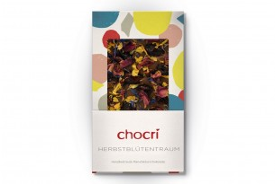 """chocri """"Herbstblütentraum"""" Schokoladen-Tafel"""