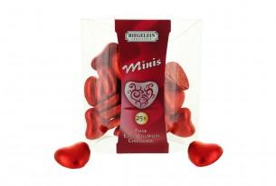 "Riegelein Confiserie ""Minis Schokoladen-Herzen"" Schokoladen-Figuren"