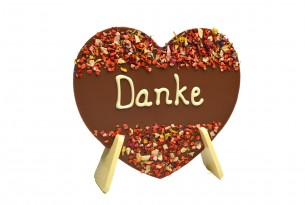 """Schokoladenherz """"Danke"""""""