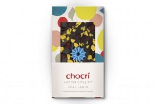 "chocri ""Hoch sollst Du leben"" Schokoladen-Tafel"