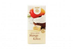 "GEPA Bio Schokolade ""Weisse Jogurt - Mango Kokos"""