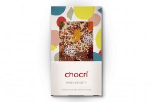 """chocri """"Kinderparty"""" Schokoladen-Tafel"""