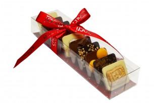"chocri ""Kleine Winterweltreise"" Mini-Schokoladen-Tafeln"