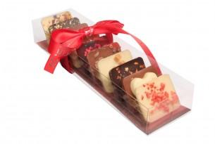 "chocri ""Süßer Moment"" Mini-Schokoladen-Tafeln in Verpackung"
