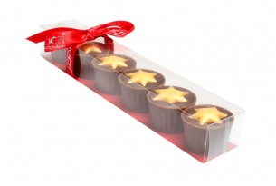 Marzipan Star Cups