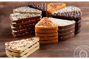 """Laurence """"Limonen-Schokolade mit Vanille-Biskuit"""" Schokoladen-Tafel"""