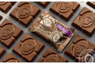 "Laurence ""Milchschokolade ohne Zucker"" Mini-Schokoladen-Tafel | chocri Schokoladenshop"