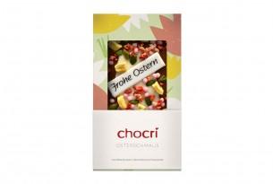 """chocri """"Osterschmaus"""" Schokoladen-Tafel in der Verpackung"""