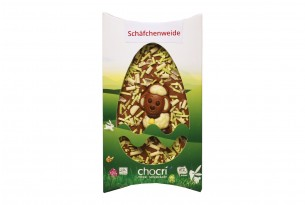 """chocri """"Schäfchenweide"""" Schokoladen-Tafel"""
