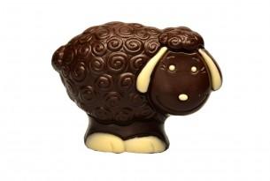 """""""Schäfchen Mimi"""" Oster-Schokoladen-Figur"""