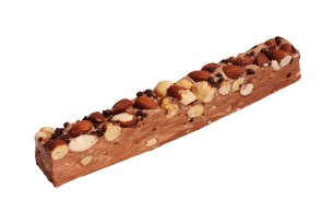 "Carlier Soft-Nougat-Riegel ""Chocolate"""