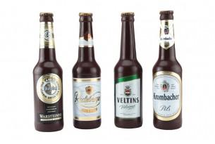 """chocri """"Überraschungs-Bierflasche aus Zartbitter-Schokolade"""""""