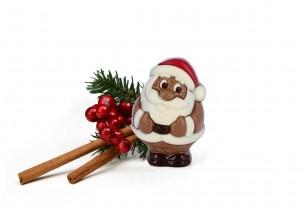"""chocri """"Rot-Mütze"""" Schokoladen-Weihnachtsmann"""