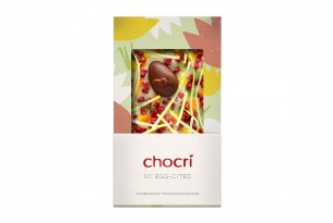 "chocri ""So Egg-Cited"" Schokoladen-Tafel"