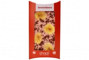 """chocri Schokoladen-Tafel """"Sonnenbeere"""""""