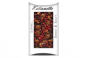 "chocri ""Sweet & Salty"" Blog-Schokoladen-Tafel Kationette Kati kletzel"