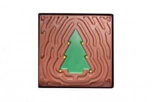 """chocri """"Tannenbaum-Labyrinth - Vollmilch"""" Schokoladen-Spiel"""