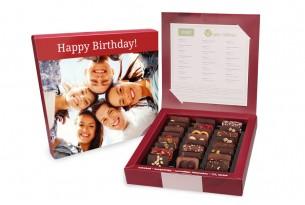 """chocri chocri """"Vegane Weltreise"""" Mini-Schokoladen-Tafeln mit individueller Verpackung"""