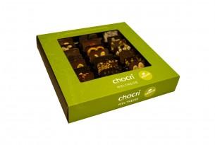"""chocri """"Vegane Weltreise"""" Mini-Schokoladen-Tafeln"""