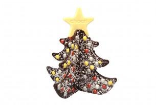 """chocri """"Zartbitter-Tannenbaum"""" Weihnachts-Schokoladen-Tafel"""