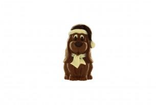 """chocri """"Oskar"""" Weihnachts-Schokoladen-Figur"""