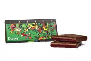 """Zotter """"Danke"""" Schokoladen-Tafel"""