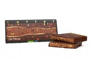 """Zotter """"Ge Nüsse"""" Schokoladen-Tafel"""