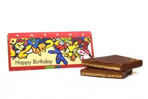 "Zotter ""Happy Birthday"" Schokoladen-Tafel"