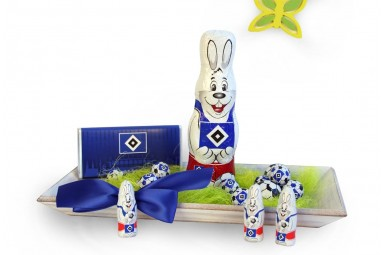 "Ostern-Schoko-Fanpaket ""Hamburger SV"""