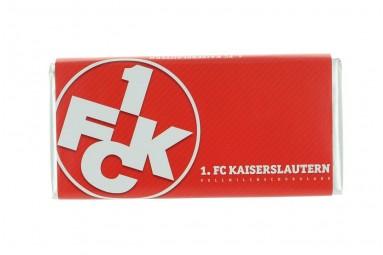 Schokoladen-Tafel '1. FC Kaiserslautern'
