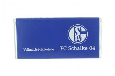 Schokoladen-Tafel 'FC Schalke 04'