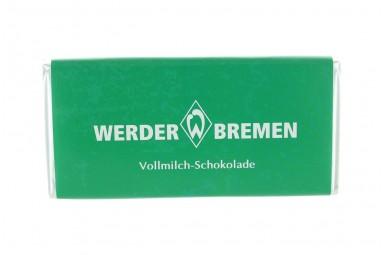 """Schokoladen-Tafel """"SV Werder Bremen"""""""